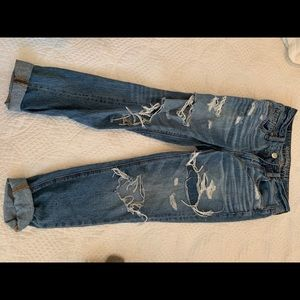 High rise Tom girl jeans